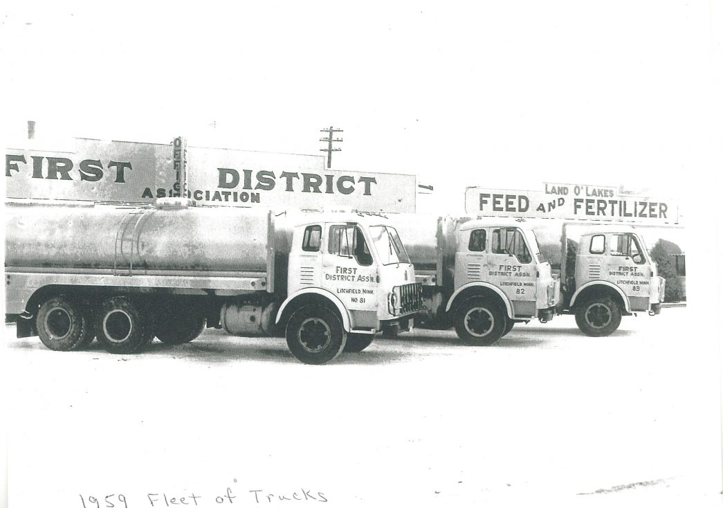 1959-fleet-of-milk-trucks